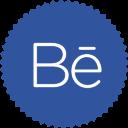 иконки Behance,