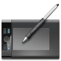 иконка Tablet, графический планшет,