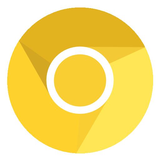 иконки canary, браузер,