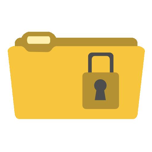 иконка encryptonclick, папка,