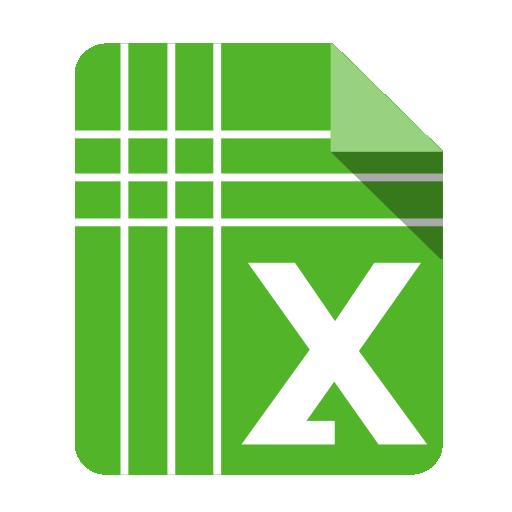 иконки Excel, Google Docs, эксель,