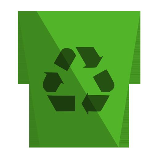 иконки recycling bin empty, пустая корзина,