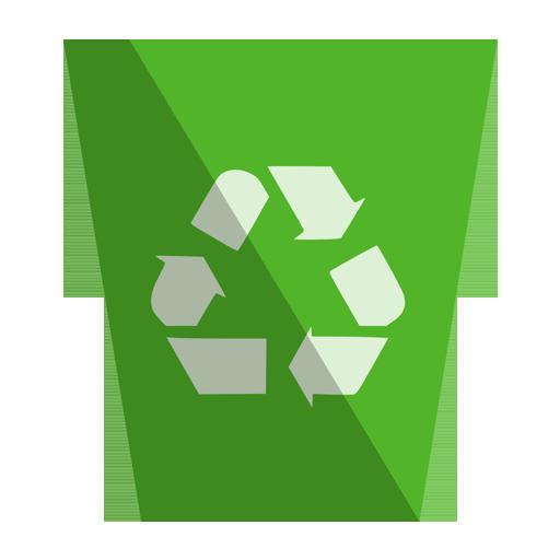 иконки recycling bin full, полная корзина, мусор,