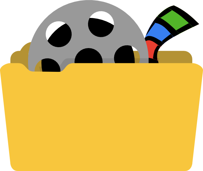 иконки  Videos, видео, папка, мои видеозаписи, folder,