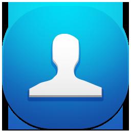иконка contacts, контакты,