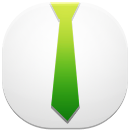 иконка profile, профиль, галстук,