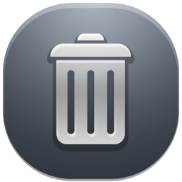 иконка trash, бак, мусорный бак, корзина,
