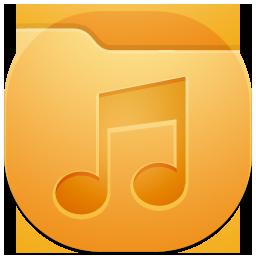 иконка folder music,  folder, моя музыка, папка,