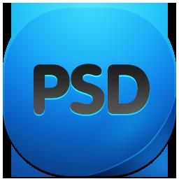 иконки PSD, фотошоп,
