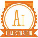 иконки illustrator, иллюстратор, adobe,