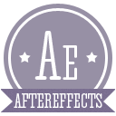 иконка aftereffects, after effects, adobe,