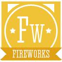 иконка fireworks, adobe,