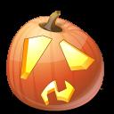 иконки  Shock, шок, шокированный, тыква,  halloween, хэллоуин,