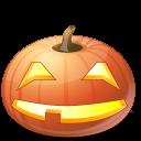 иконки Smile, улыбаться, улыбается, тыква,  halloween, хэллоуин,
