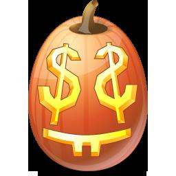 иконки EasyMoney, деньги, halloween, хэллоуин,