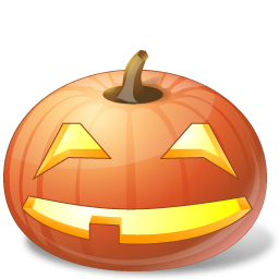 иконка Smile, улыбаться, улыбается, тыква,  halloween, хэллоуин,