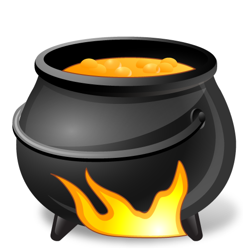 иконка Cauldron, котел, halloween, хэллоуин,