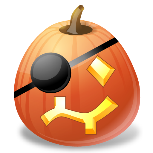 иконки Pirate, пират, тыква, halloween, хэллоуин,