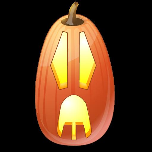 иконки Surprised, сюрприз, тыква,  halloween, хэллоуин,