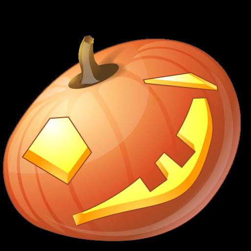 иконка Wink, подмигивание, подмигнуть, тыква,  halloween, хэллоуин,