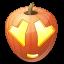 иконка Adore, влюбленный, тыква, halloween, хэллоуин,