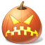 иконка Angry, злой, тыква, halloween, хэллоуин,