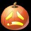 иконка Sad, грустно, грустный, тыква, halloween, хэллоуин,