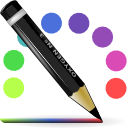 iconcolor line, pencil,