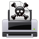 иконки  print error, принтер, ошибка,