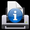 иконки print report, принтер,