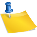 иконки Sticky Notes, записки, записка,