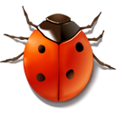 иконки bug, жук, божья коровка,