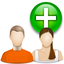 иконки user group new, новая группа, пользователи,