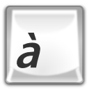 иконки character map, клавиша,