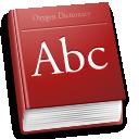 иконка Dictionary, словарь, книга,