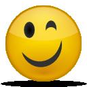 иконки подмигивание, смайл, смайлик, smile,