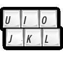 иконки charpick, клавиатура,