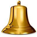 иконка bell, звонок, колокол, колокольчик,