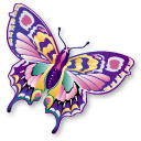 iconddd, butterfly,