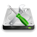 icondisk manager, settings, hard disk,