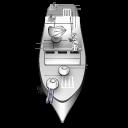 иконки freeciv, корабль, военный корабль,
