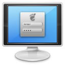 иконки gdm, логин, авторизация, монитор, monitor,