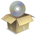 иконки  app install, установка, диск, коробка,