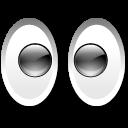 иконка eyes, глаза,