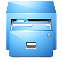 иконки panel drawer, диспетчер файлов,
