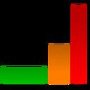иконка vumeter, график, статистика,