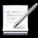 иконки kate, редактировать, исходный код,