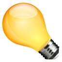 иконка лампочка,