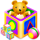 icongames kids, cubes, toys,