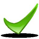 иконка updated, галочка, обновленный, свежий,